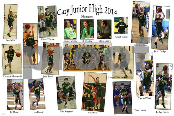 Jr. HIgh 8th grade boys