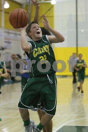 Jr High 8th grade A game at Stevenson11/22/14
