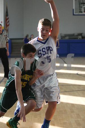 Jr. High 8th grade A vs SSPP 12/6/14