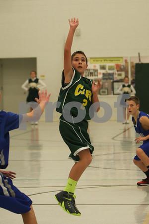 Jr High 8th grade boys B game 11/18/14