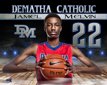 Jamel Melvin #22