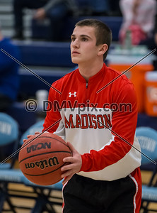 Madison @ Yorktown Boys Basketball (18 Dec 2015)
