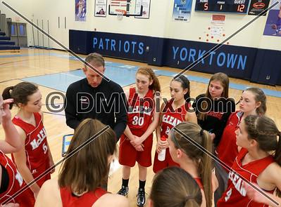 McLean @ Yorktown Girls JV Basketball (05 Feb 2016)
