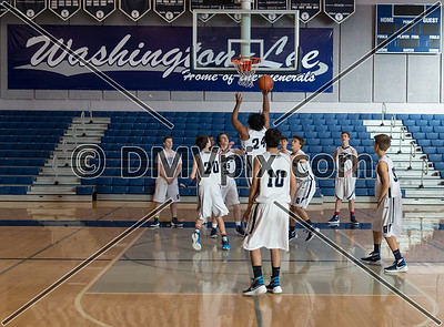 Yorktown @ W-L Boys JV Basketball (29 Jan 2016)