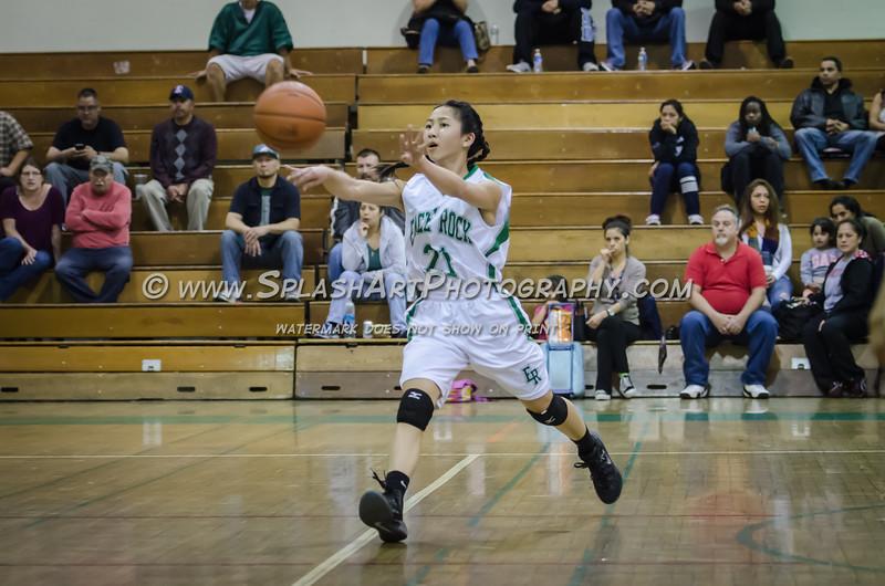 2015 Eagle Rock Girls Basketball vs Bravo Knights