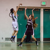 2015 Eagle Rock Girls Basketball vs Bravo Knights