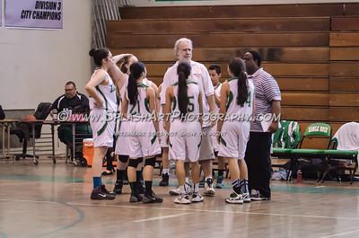 2015 Basketball Eagle Rock Girls vs Franklin 14Jan2015
