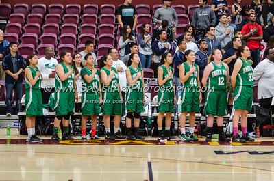 2015 Basketball Eagle Rock Girls vs Garfield 07Mar2015