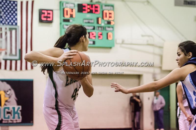 2015 Eagle Rock Girls Basketball vs Marshall Barristers