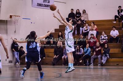 2015 Basketball Eagle Rock Girls vs Marshall 25Feb2015