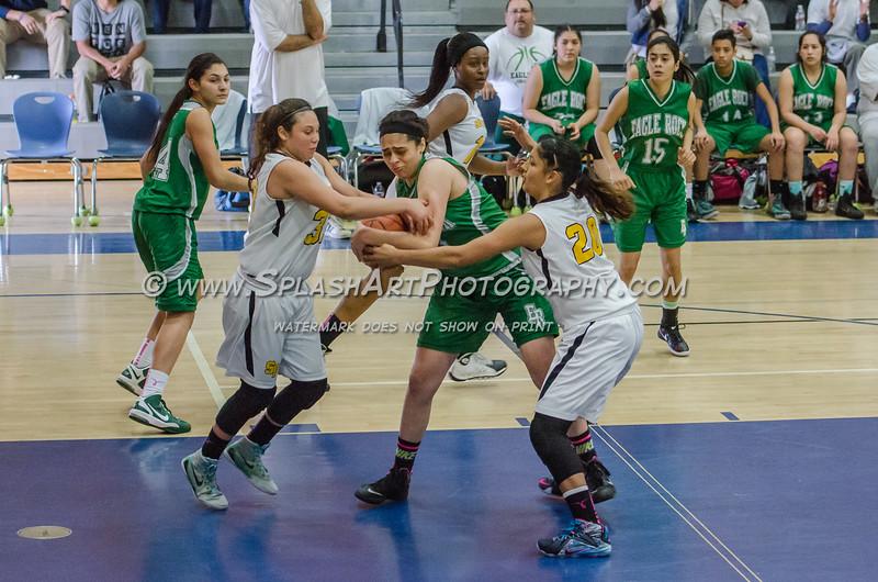 2015 Eagle Rock Girls Basketball vs San Pedro Pirates