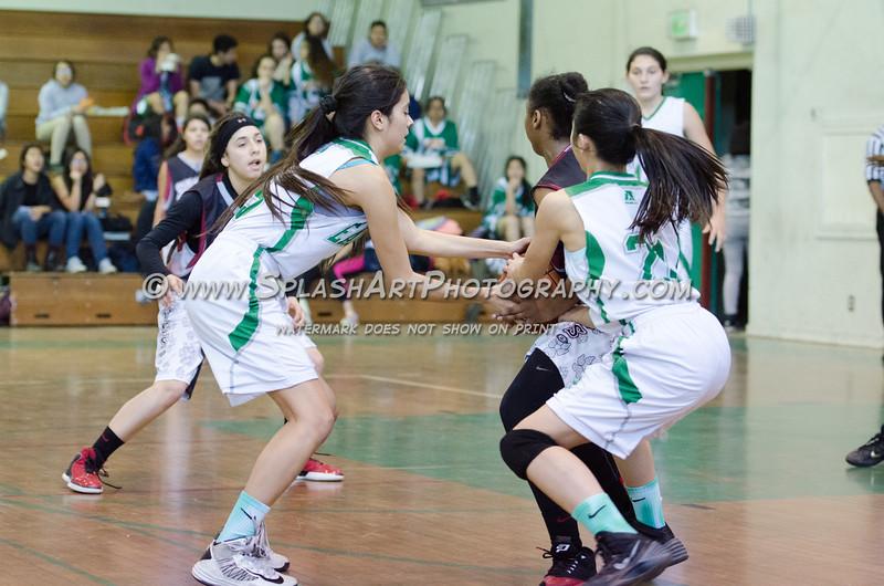 2015 Eagle Rock Girls Basketball vs Sotomayor Wolves