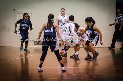 2015 Basketball Eagle Rock Girls vs Marshall 13Feb2015