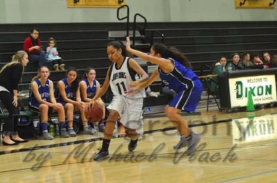 2015 Dixon Freshman Girls vs. Davis