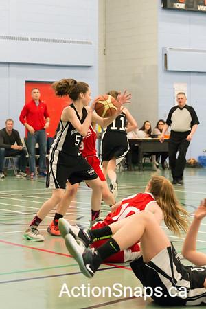 NLBA 2017 East Coast Provincial Grade 10 Girls A Champs