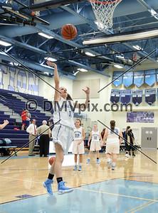 Westfield @ Yorktown Girls JV Basketball (09 Dec 2016)