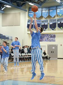 Langley @ Yorktown Boys Basketball (10 Feb 2017)