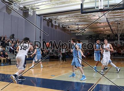 Yorktown @ W-L Boys Varsity Basketball (27 Jan 2017)