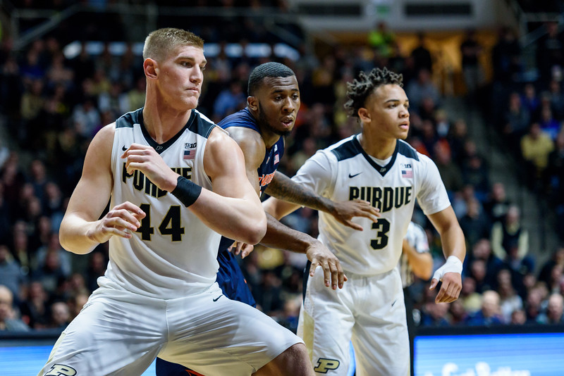 1/17/17 Illinois, Isaac Haas, Carsen Edwards