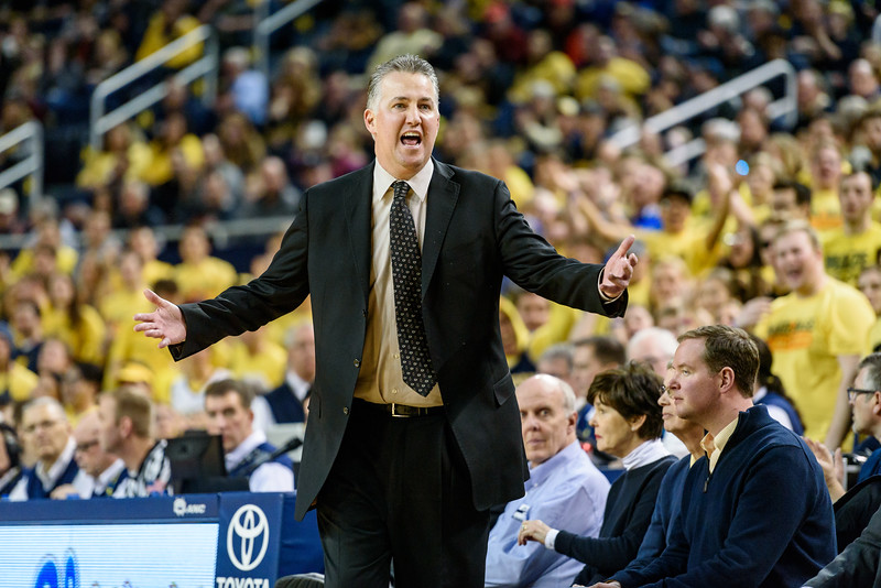 2/25/17 Michigan, Matt Painter