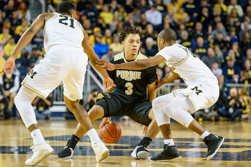 2/25/17 Michigan, Carsen Edwards