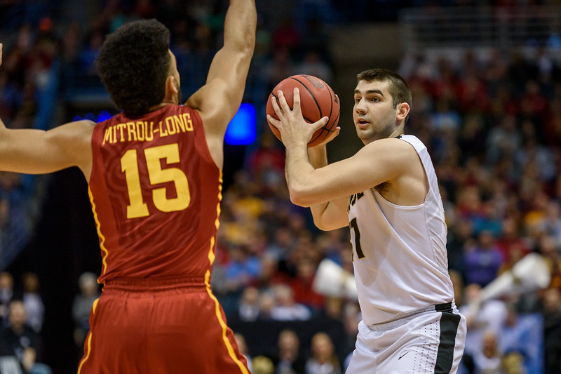 3/16/17 NCAA Tournament, Iowa State, Dakota Mathias