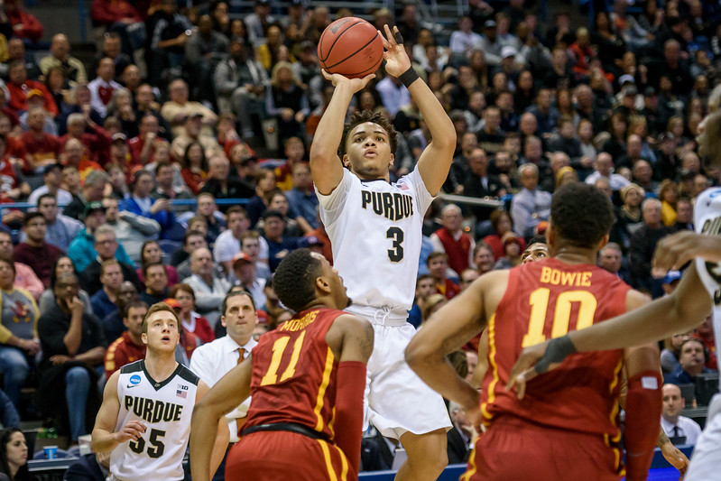 3/16/17 NCAA Tournament, Iowa State, Carsen Edwards