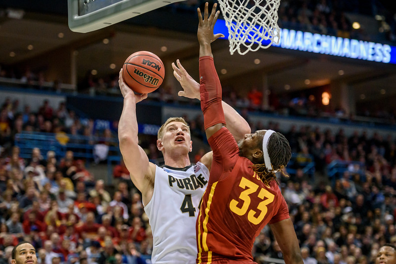 3/16/17 NCAA Tournament, Iowa State, Isaac Haas