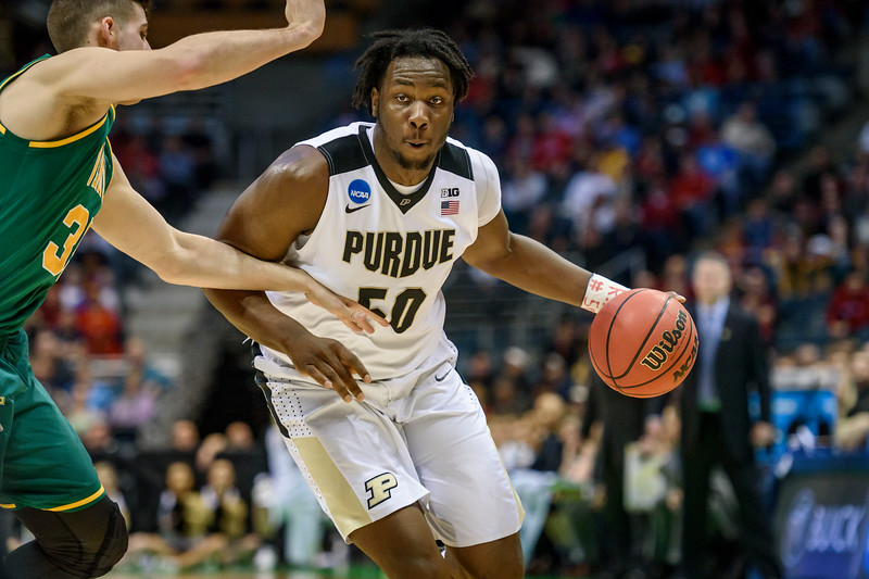 3/16/17 NCAA Tournament, Vermont, Caleb Swanigan