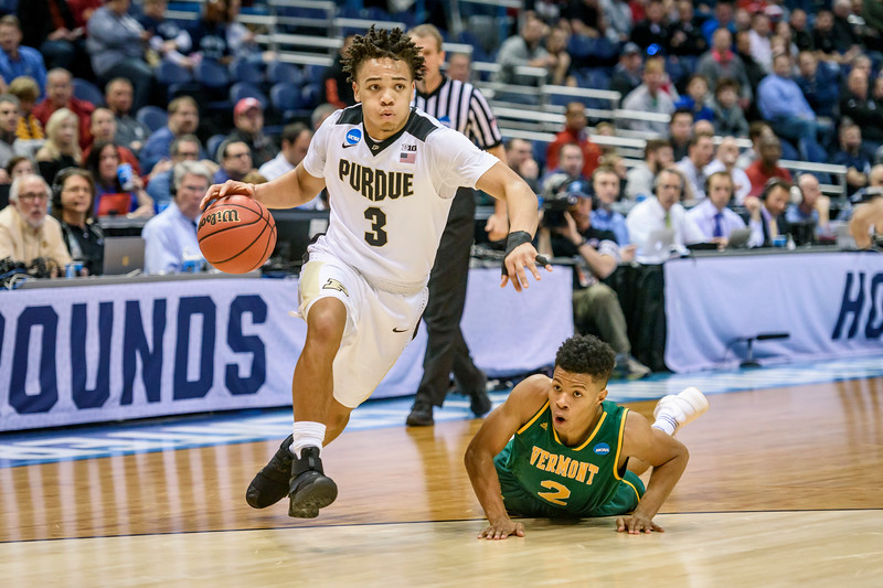3/16/17 NCAA Tournament, Vermont, Carsen Edwards