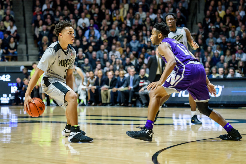2/1/17 Northwestern, Carsen Edwards