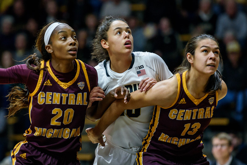 12/6/16 Central Michigan, Dominique McBryde