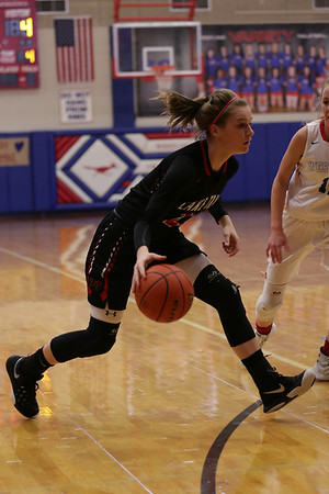 2016 Westlake Chaparrals Girls Basketball vs Lake Travis Cavaliers January 2, 2016