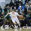 Rockville's forward  Matthew McTighe steals his way up court.