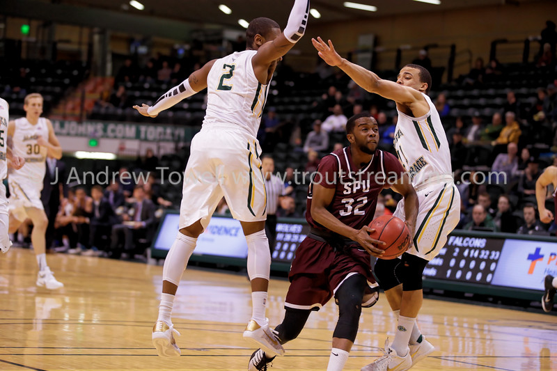 20161229 Mens Basketball Seattle Pacific University Falcons vs University of Alaska Anchorage Seawolves Snapshots