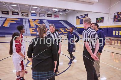 2017-03-01 JFK Basketball Girls vs St. Paul Harding (Sections)