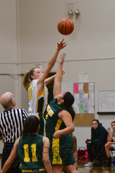 2017-18 CA Jacobs 8th Grade Girls vs. Douglass
