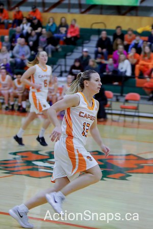 CBU vs SMU Womens' Basketball Cape Breton Capers vs Saint Mary's University