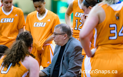 CBU vs MUN Cape Breton University vs Memorial University of Newfoundland and Labrador Women's Basketball