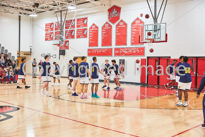 2018-03-06 JFK Basketball Boys @ St Croix Lutheran (Sections)