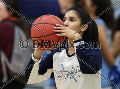 Hayfield @ Yorktown Girls Basketball (04 Dec 2018)