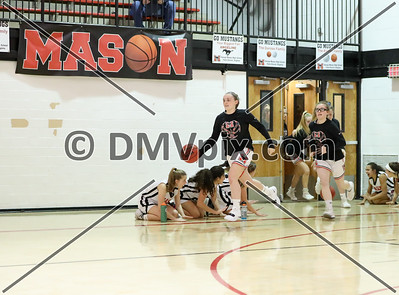 John Paul @ Mason Girls Basketball (11 Dec 2018)