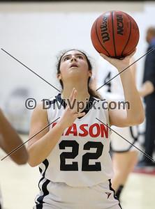 John Paul @ Mason Girls JV Basketball (11 Dec 2018)