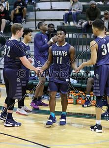 Wakefield vs Flint Hill Boys Basketball (29 Dec 2018)