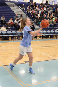 Yorktown Girls Basketball Senior Night (25 Jan 2019)