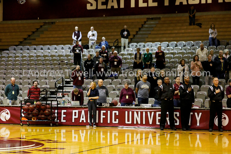 20181129 Womens Basketball Seattle Pacific University Falcons versus Concordia University Cavaliers Snapshots