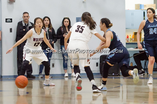 2019 Marshall Barristers Basketball vs Van Nuys Wolves