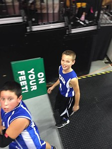 Jake 5th grade celtics game