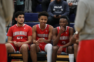 Annandale @ Yorktown Boys Basketball (05 Dec 2019)