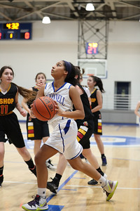 Bishop Ireton @ DJO Girls Freshman Basketball (09 Jan 2020)